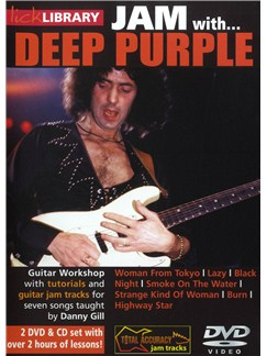 Lick Library: Jam With Deep Purple CDs and DVDs / Videos | Electric Guitar