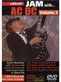Lick Library: Jam With AC/DC - Volume 2 CDs and DVDs / Videos | Electric Guitar