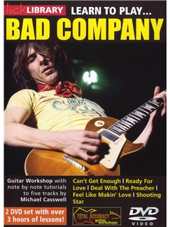 Lick Library: Learn To Play Bad Company DVDs / Videos | Electric Guitar