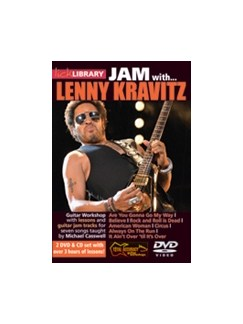 Lick Library: Jam With Lenny Kravitz CDs and DVDs / Videos | Guitar