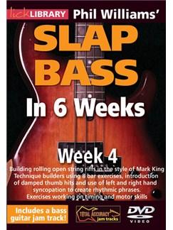 Lick Library: Phil Williams' Slap Bass In 6 Weeks - Week 4 DVDs / Videos | Bass Guitar