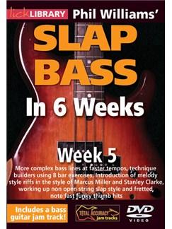 Lick Library: Phil Williams' Slap Bass In 6 Weeks - Week 5 DVDs / Videos | Bass Guitar
