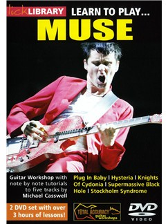 Lick Library: Learn To Play Muse DVDs / Videos | Guitar