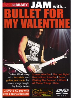 Lick Library: Jam With Bullet For My Valentine CDs and DVDs / Videos | Guitar