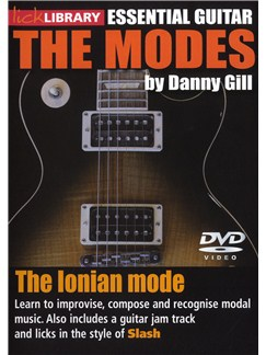 Lick Library: The Modes - Ionian (Slash) DVDs / Videos | Guitar