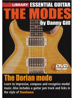 Lick Library: The Modes - Dorian (Santana) DVDs / Videos | Guitar