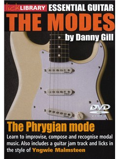 Lick Library: The Modes - Phrygian (Yngwie Malmsteen) DVDs / Videos | Guitar