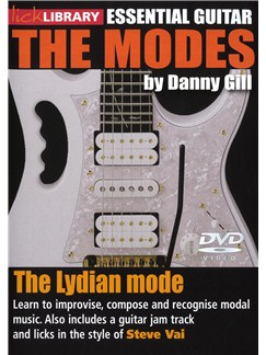 Lick Library: The Modes - Lydian (Steve Vai) DVDs / Videos | Guitar