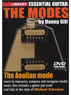 Lick Library: The Modes - Aeolian (Michael Schenker) DVDs / Videos | Guitar
