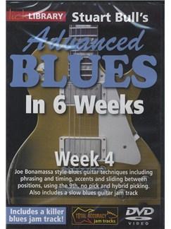 Lick Library: Stuart Bull's Advanced Blues In 6 Weeks - Week 4 DVDs / Videos | Guitar