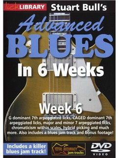 Lick Library: Stuart Bull's Advanced Blues In 6 Weeks - Week 6 DVDs / Videos | Guitar
