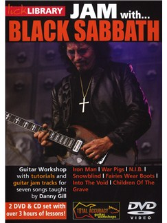 Lick Library: Jam With... Black Sabbath CDs and DVDs / Videos | Guitar