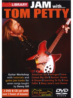 Lick Library: JAM With Tom Petty CDs and DVDs / Videos | Guitar