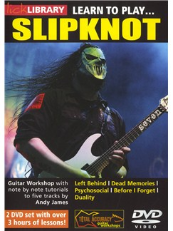 Lick Library: Learn To Play Slipknot DVDs / Videos | Guitar