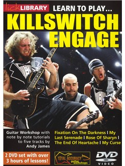 Lick Library: Learn To Play Killswitch Engage DVDs / Videos | Guitar