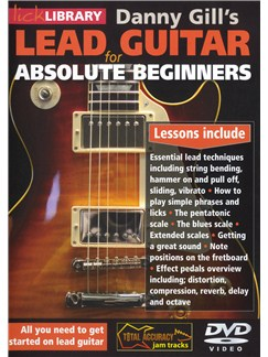 Lick Library: Lead Guitar For Absolute Beginners DVDs / Videos | Guitar