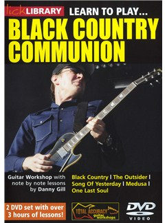 Lick Library: Learn To Play Black Country Communion DVDs / Videos | Guitar