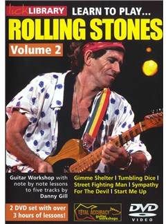 Lick Library: Learn To Play Rolling Stones - Volume 2 DVDs / Videos | Guitar