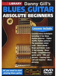 Lick Library: Danny Gill's Blues Guitar for Absolute Beginners DVDs / Videos | Guitarra