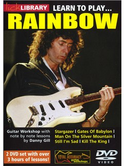 Lick Library: Learn To Play Rainbow DVDs / Videos | Guitar