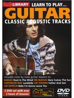 Lick Library: Learn To Play Classic Acoustic Tracks DVDs / Videos | Acoustic Guitar