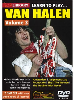 Lick Library: Learn To play Van Halen - Volume 3 DVDs / Videos | Guitar