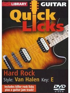 Lick Library: Quick Licks - Van Halen Hard Rock DVDs / Videos | Guitar
