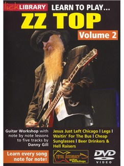 Lick Library: Learn To Play ZZ Top - Volume 2 DVDs / Videos | Guitar