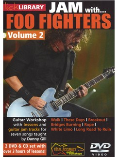 Lick Library: Jam With Foo Fighters - Volume 2 CDs and DVDs / Videos | Guitar