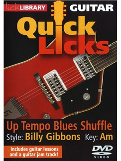 Lick Library: Quick Licks - Billy Gibbons Up-Tempo Blues DVDs / Videos | Guitar