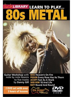 Lick Library: Learn To Play 80s Metal DVDs / Videos | Guitar