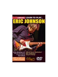 Lick Library: Learn To Play Eric Johnson (2 DVD Set) DVDs / Videos | Guitar