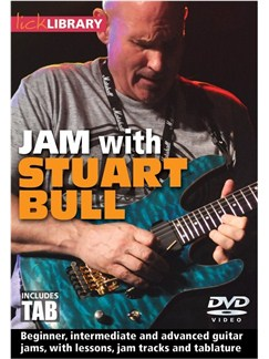 Jam With Stuart Bull DVDs / Videos | Guitar