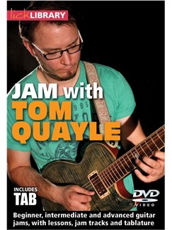 JAM With Tom Quayle DVDs / Videos | Guitar