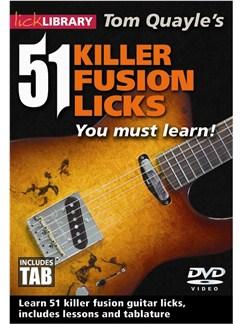 51 Killer Fusion Licks (2 DVD Set) DVDs / Videos   Guitar