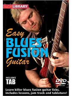 Easy Blues Fusion Guitar DVD DVDs / Videos | Electric Guitar