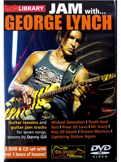 Jam With George Lynch (CD/2 DVDs) CDs and DVDs / Videos | Guitar