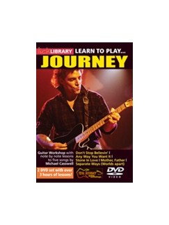 Lick Library: Learn To Play Journey (2 DVD Set) DVDs / Videos | Guitar