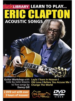 Learn To Play Eric Clapton Acoustic Tracks DVDs / Videos | Guitar