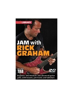 Lick Library: Jam With Rick Graham DVDs / Videos | Guitar, Electric Guitar