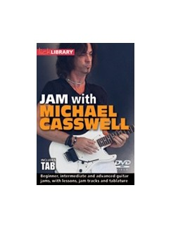 Lick Library: Jam With Michael Casswell (DVD) DVDs / Videos | Guitar