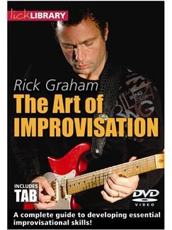 The Art Of Improvisation By Rick Graham DVDs / Videos | Guitar, Electric Guitar