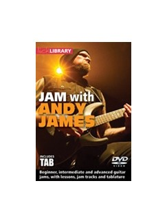 Lick Library: Jam With Andy James (DVD) DVDs / Videos | Guitar
