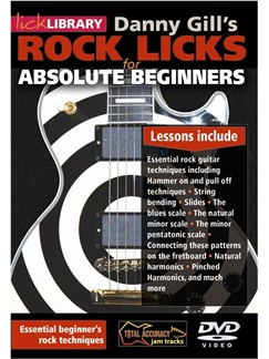 Rock Licks For Absolute Beginners DVDs / Videos | Guitar