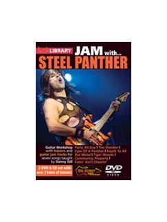 Jam With Steel Panther (CD/2 DVD set) CDs and DVDs / Videos | Electric Guitar