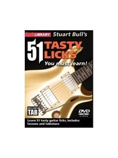 Stuart Bull's 51 Tasty Licks You Must Learn! DVDs / Videos | Guitar