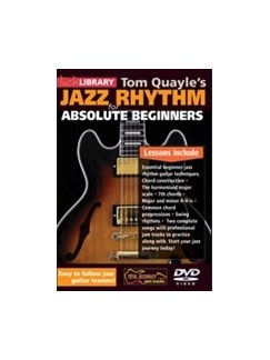 Tom Quayle's Jazz Rhythm Guitar For Absolute Beginners DVDs / Videos | Guitar