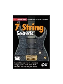 Ultimate Guitar Lessons: 7 String Secrets DVDs / Videos | Guitar