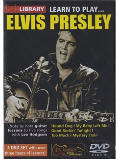 Lick Library: Learn To Play Elvis Presley (2 DVDs) DVDs / Videos | Guitar