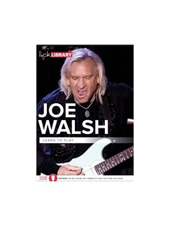 Lick Library: Learn To Play Joe Walsh (2 DVD Set) DVDs / Videos | Guitar
